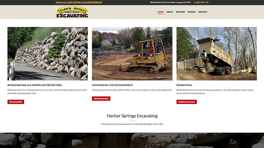harbor springs excavating